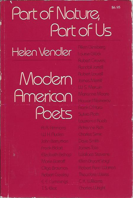 Part of nature, part of us – Modern American Poets