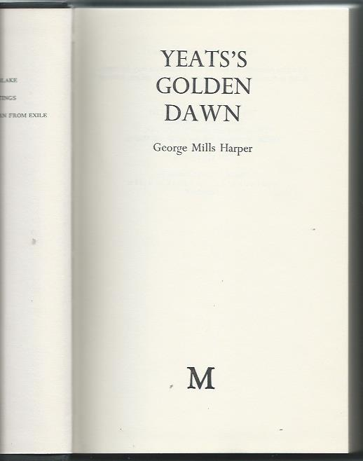 Yeats' Golden Dawn